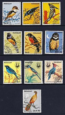 Paraguay Birds Collection 10 stamps [Lot 23]