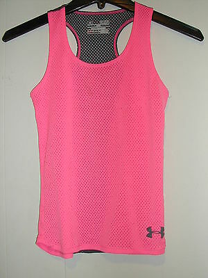 """Youth Small """"Under Armour"""" Razor Back Tank Top"""