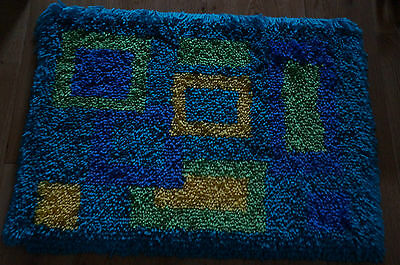 latch hook rug /wall hanging completed