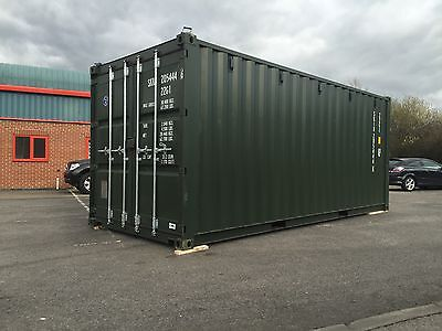 New* 20Ft Shipping Container £1495 +Vat **07940 561 996**