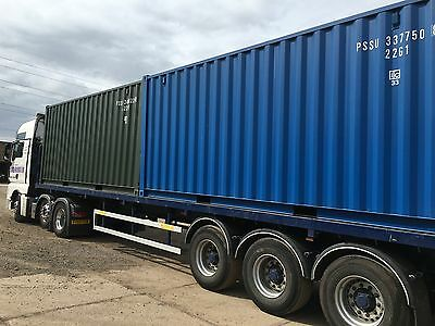 NEW* 20ft SHIPPING CONTAINER £1495**