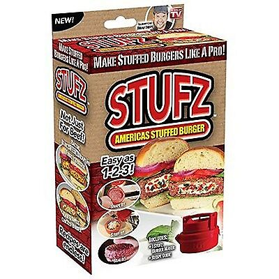 StufZ Burger Press | As Seen On TV | NIB