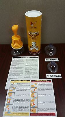 LifeVac Anti-Choking Device - Emergency First Aid Kit - Save a Life!