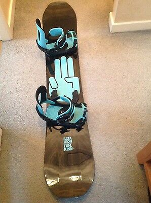 Bataleon Fun Kink 16/17 Size 154 + Colour matched Switchback bindings
