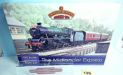 Bachmann 'oo' Gauge 30-285 'the Midlander Express' Train Set Boxed #125Y