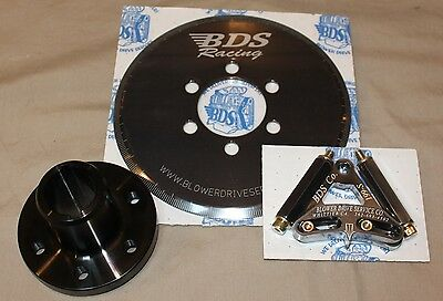 Blower Hub for SB Chevy Dual Keyway with BDS Degree Ring & Pointer ALL NEW