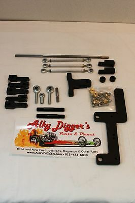Dual Carb 4150 4500 Dominator side saddle  Carbs on a Blower  6-71 -14-71
