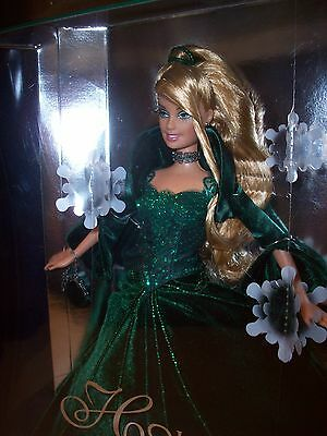 BARBIE: 2004 Holiday Collector's Edition MINMB Collectibles Green Christmas