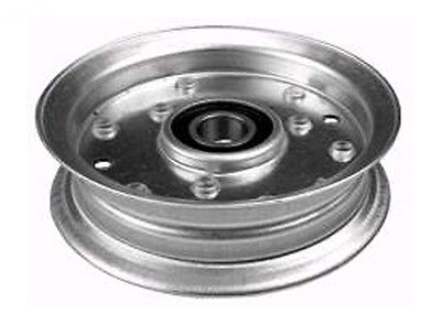 "Flat Idler Pulley Fits Murray Noma 690549 (9543) ID 11/16"" OD 4 5/8"" Height 1"""
