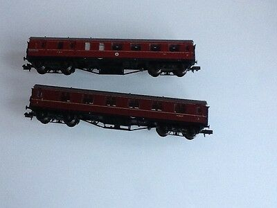 Graham Farish Bachmann Coaches LMS  N Gauge x 2