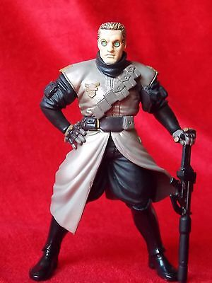 """Ghost in the shell BATOU / PVC SOLID Figure 4.5"""" 11.5cm RARE UK DESPATCH"""