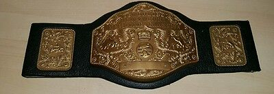 Electronic WORLD WRESTLING CHAMPION BELT MANLEY QUEST 1998 Toy not working HTF