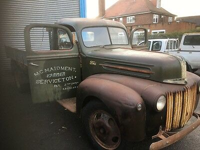 Parked for 60 years 1942 Ford V8