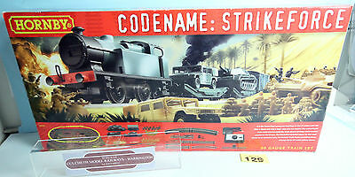 Hornby 'oo' Gauge R1147 'codename Strikeforce' Train Set Boxed #129Y