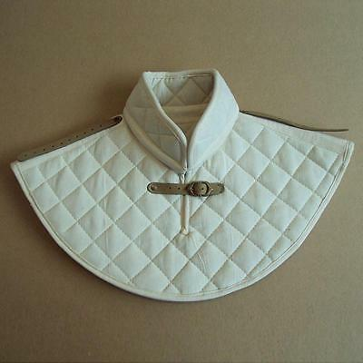 Padded Gorget - Medieval Neck Armour. Perfect for Re-enactment, Stage, Costume