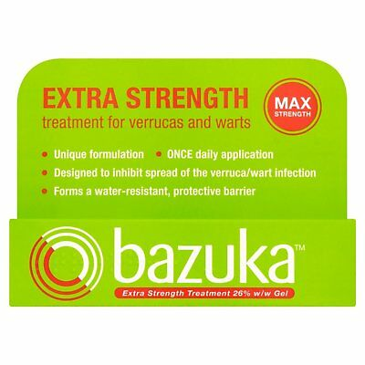 Bazuka Extra Strength Treatment Gel, Verruca Treatment