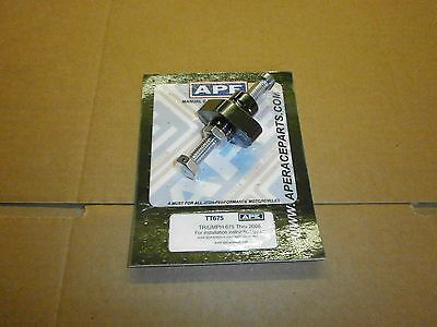 Triumph 675 pre 09 APE manual camchain tensioner. usa made. the best! NEW