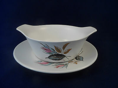"""J & G Meakin """"Nightclub"""" Soup Bowl And Saucer"""