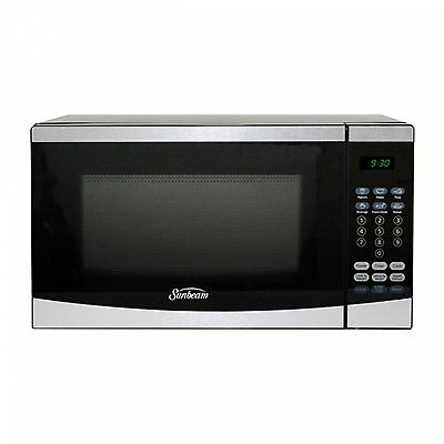 Sunbeam 0.7 Cu Ft. Microwave Oven Finish: Stainless Steel