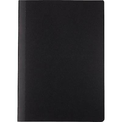 "Staples Mini Poly Composition Notebook, Black, 5"" x 7"", Each (24429)"