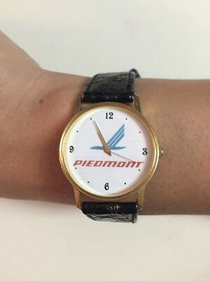 PIEDMONT AIRLINES Watch 90s Great Working Condition Given To Stewardess