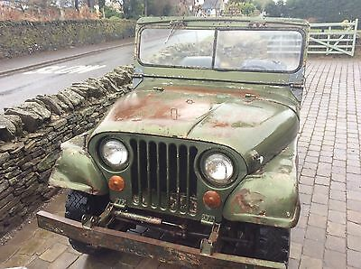 Willys Jeep 1953 Barn Find for restoration or trial trail off-road etc