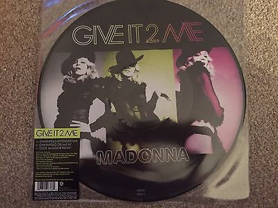"MADONNA - GIVE IN TO ME -STRICTLY  LIMITED EDITION 12"" VINYL PICTURE DISC Mint"