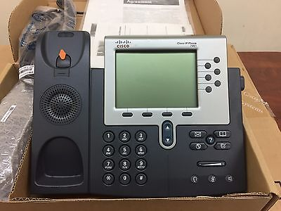 Cisco IP Phone CP-7961G VoIP Phone - LCD Display - Same Day Shipping -