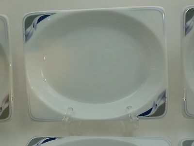 """Continental Airlines Side Dish Plate Oneida 8-9070  7"""" by 5.5"""""""