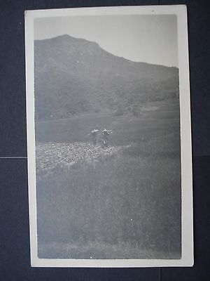 Used Black & White Real Picture Post Card Hong Kong 1920