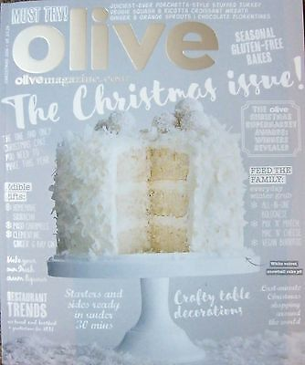Olive Magazine, Brand New Christmas 2016 Edition.