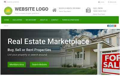 Real Estate Profitable Listing Directory - Website for Sale