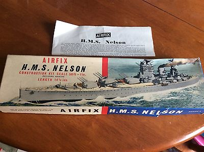 AIRFIX H.M.S.Nelson Series 4 Box Only