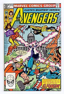 Marvel Comics: Avengers #212