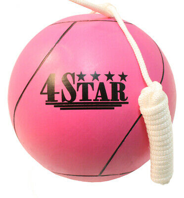 New Pink Colors Tether Balls for Play Grounds & Picnics Included With Rope