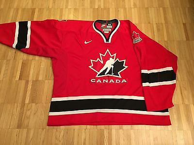 Authentic Team Issued 2002 Nike Team Canada Jersey sz. 58