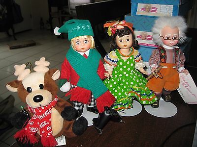 Madame Alexander - Lot Of 3 Dolls, Near Mint W/ Boxes & Extras