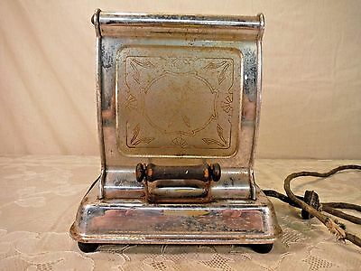 Antique Vintage Auto-ToastMaker Toaster E459 One Slice Tipper 1920s -1940s