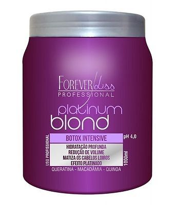 BOTOX PLATINUM BLOND MATIZADOR By Forever Liss Professional 1000ml - 34oz