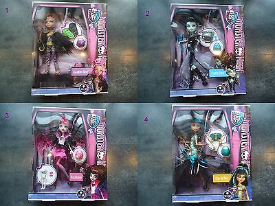 Poupée Monster High Collection Ghouls Rule : Cleo de Nile, Clawdeen Wolf, Franki