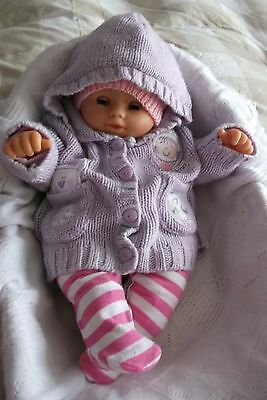 """Large 22"""" Baby Doll for Play or Reborn"""