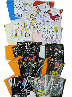 NEW. 125 mens/womens funny greetings cards. Excellent quality.