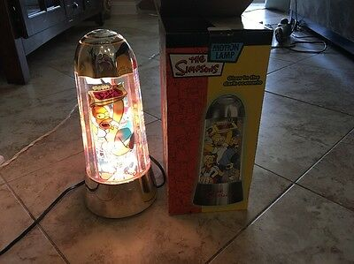 The Simpsons Glow in the Dark Motion Lamp with Box-Moe's Tavern, Homer Moves
