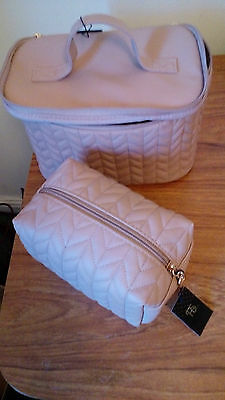 Vanity Case and matching Make up bag  - NEVER BEEN USED