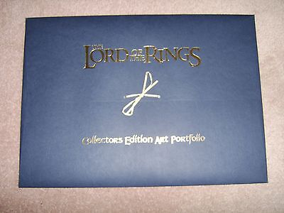 LORD OF THE RINGS  Limited Edition Collectors Edition Art Portfolio Volume 2