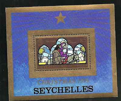 Seychelles Issue - Mint Minisheet - Christmas 1979