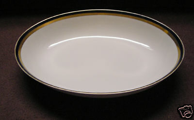 """Harmony House Fine China Marquis 3689  Pattern Oval Vegetable Bowl 10 1/8"""""""