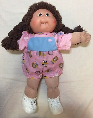 Cabbage Patch Doll 16 Inches Brown Hair