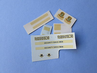 Dinky Fire/security (275,259,276,281,257) Decal/transfer Superb Offer