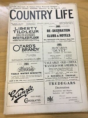 Vintage Country Life Magazine March 5Th 1921